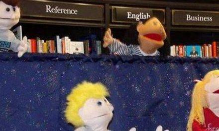 It's a Puppet!