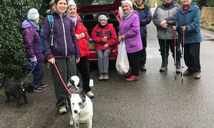 Walking for Christian Aid