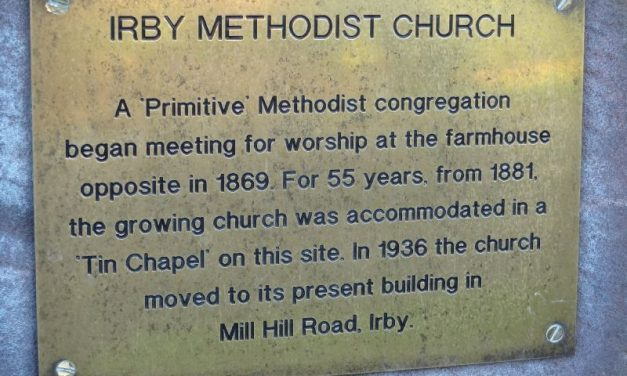 150 years of Methodism in Irby